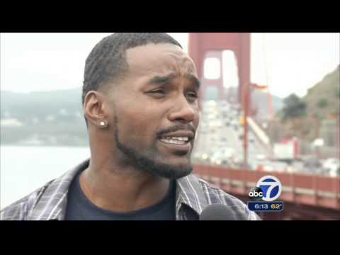 Golden Gate Bridge Suicide Net Update (ABC 7 News) (08-21-2015)