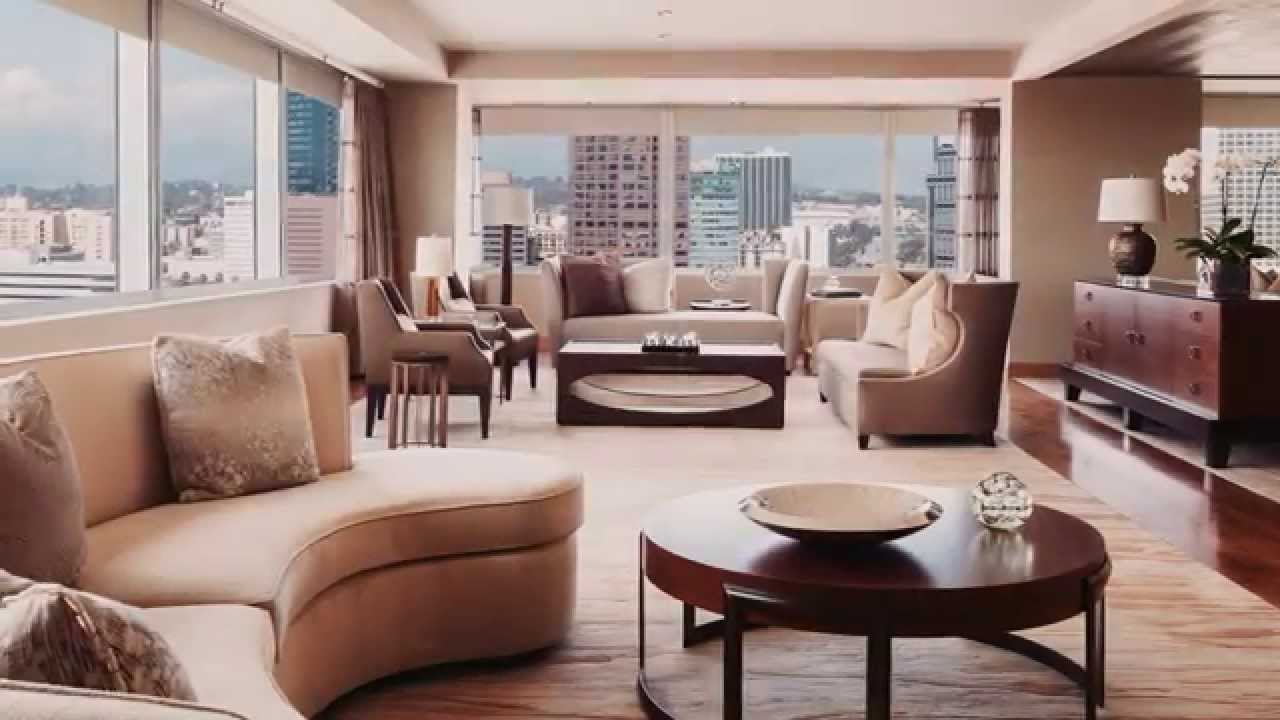 the living room los angeles ritz carlton downtown la 20672