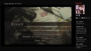 Resident Evil 4 - NG+ Normal - Speedrun só de zoas - Ps4