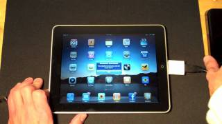 Apple iPad: Connecting External Drives