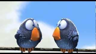 Веселый мульт с приколами о глупых птичках на проводе(Птички на проводе от Pixar и http://GamesMage.ru Огалтелые птицы, как бабушки у подъездов, ищут повода для того, чтобы..., 2012-11-08T17:03:00.000Z)