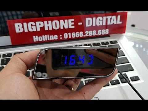 [Camera Wifi Đồng Hồ] Để Bàn 1080P - Tuyệt Vời Chất Lượng