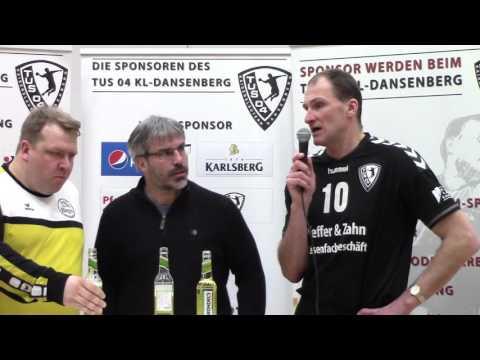 TuS 04 Dansenberg - HSG Rhein-Nahe Bingen Interview