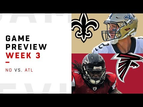 New Orleans Saints vs Atlanta Falcons  Week 3 Game Preview  Move the Sticks