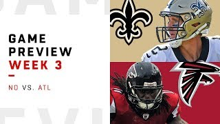 New Orleans Saints vs. Atlanta Falcons | Week 3 Game Preview | Move the Sticks