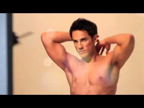 Behindthes with Michael Trevino for Bench Body