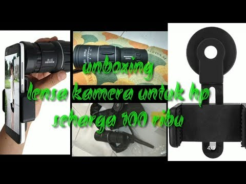 Unboxing shopee unboxing teleskop lensa hp harga ribuan youtube