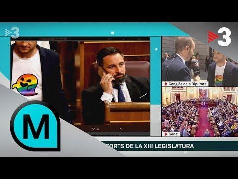 """Arnau Ramírez: """"Davant d'un Congrés amb Vox, reivindiquem els drets de les persones LGTBI"""""""