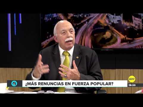 """Tubino sobre posibles renuncias en el fujimorismo: """"No hay esa indisciplina en Fuerza Popular"""""""