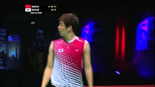 F - MD (Highlight) - Liu Xiaolong/Qiu Zihan vs Ko Sung Hyun/Lee Yong Dae - 2013 Sudirman Cup