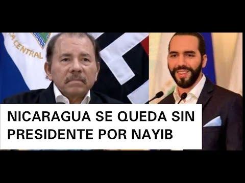 NICARAGUA SE QUEDA SIN PRESIDENTE NAYIB BUKELE SUSTITUYE A DANIEL ORTEGA