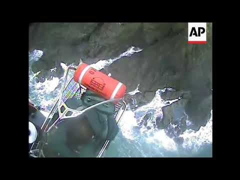 Two Rescued From Rocky California Island