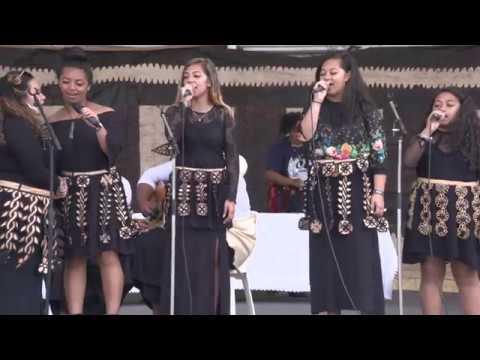 ASB Polyfest 2018 - Tongan Stage - Tonga Sisters Performing with Hon. Phaedra 'Anaseini Fusitu'a