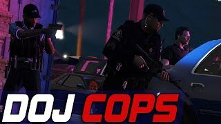 Dept. of Justice Cops #703 - One Way In, No Way Out...