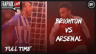 Should Wenger Be Sacked? - Brighton 2-1 Arsenal - Full Time Phone In - FanPark Live