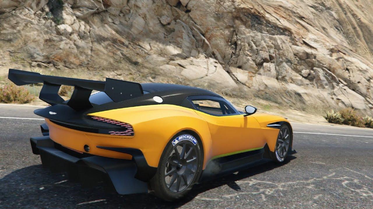 aston martin vulcan '16 v1.0 - gta v | +9800 movies - youtube