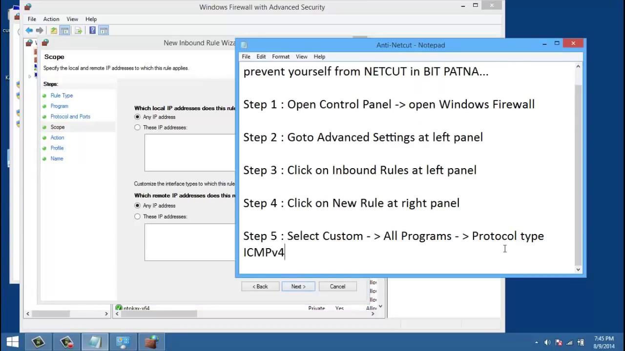 anti netcut pour windows 7 gratuit