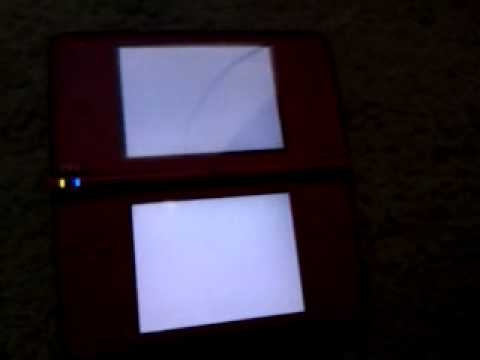 Nintendo Dsi XL Freezes And White Screen Of Death