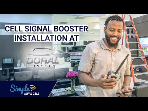cell-phone-signal-booster-installation-for-a-commercial-building