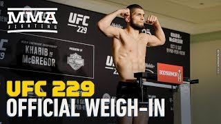 UFC 229 Official Weigh-In Highlights - MMA Fighting