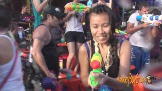 Khao San Songkran Festival Worlds Biggest Water Fight Thai New Year