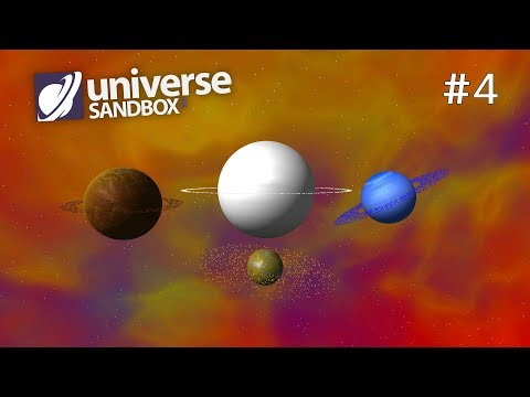 Making A Solar System Out Of Rainbow Coloured Objects Part 4, Universe Sandbox ²