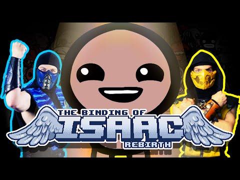 MK Lets Play - The Binding Of Isaac Rebirth (Scorpion & Sub-Zero Gameplay)