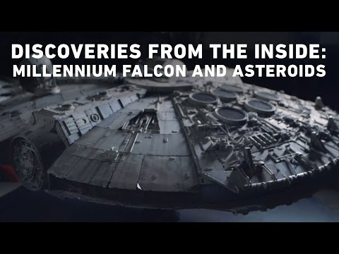 Discoveries From the Inside - Millennium Falcon and Asteroids