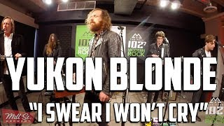"Yukon Blonde - LIVE in THE PEAK Lounge - ""I Swear I Wont Cry"""