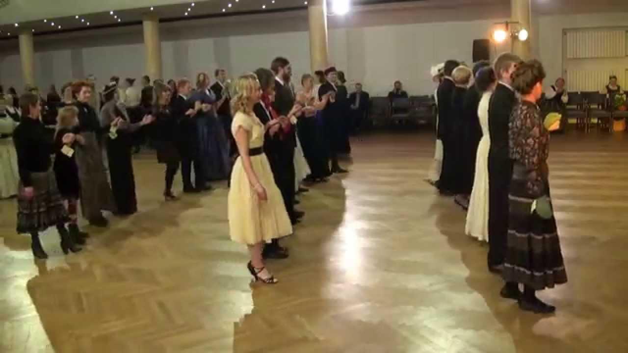 """00021 Folkloras mūzikas un deju kopas DANDARI 35 g. jubilejas  """"kadriļu balle"""""""""""