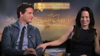 Peter Facinelli & Elizabeth Reaser Interview by Monsieur Hollywood twilight
