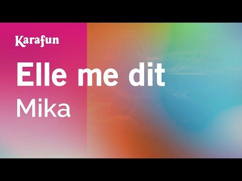 Karaoke Elle me dit - Mika *