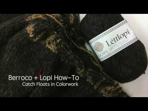 Catching Floats for Icelandic Sweaters - YouTube