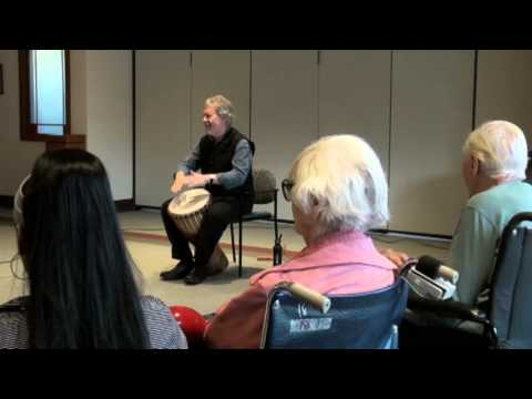 John Duggleby: Beat Generation Drum Circle for Seniors/Disabled People