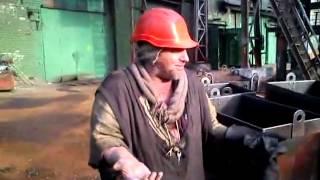 Прикол Бомж стропальщик на заводе