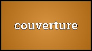 Couverture Meaning