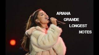 Ariana Grande - Longest Vocals | ButeraVids