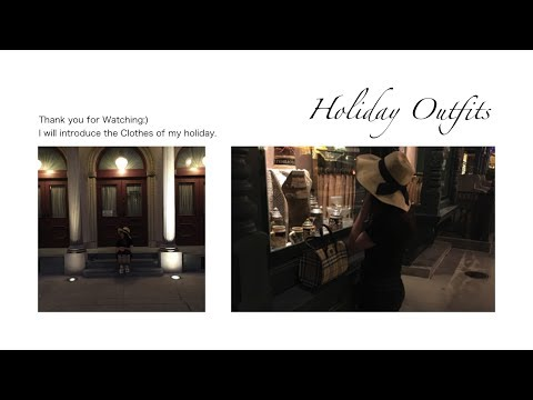 #Holiday Outfits【01】