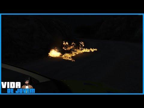 GTA V - VIDA DE JOVEM - O LUCAS MORREU EM UM RACHA!!! #5