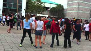Atlantic Flash Mob: Cha Cha Slide