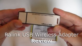 Ralink 802.11b/g 54M USB Wireless Adapter (DealExtreme) - Review