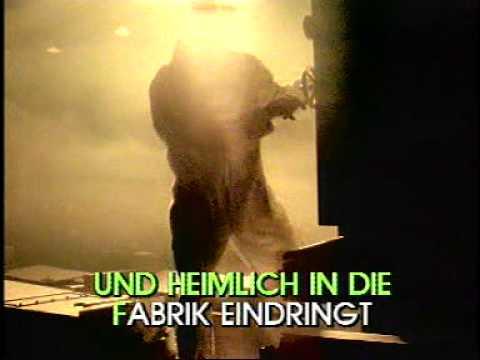 Geier Sturzflug - Bruttosozialprodukt Original Pioneer Video Karaoke Geber 2002