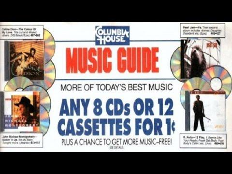 Columbia House CD Club 90u0027s Nostalgia