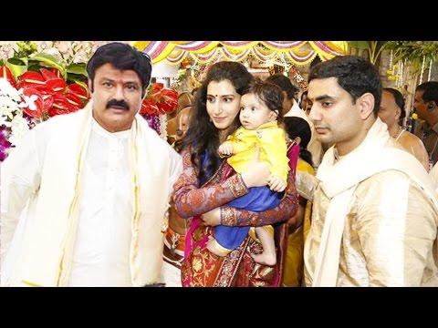 Balakrishna Grand Son Nara Devansh Annaprasana Ceremony - Exclusive