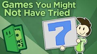Games You Might Not Have Tried #7 - Find New Games - Extra Credits (Video Game Video Review)