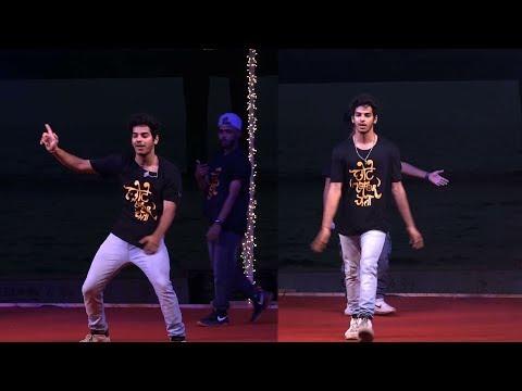 ishaan khattar Best  Break dance performance