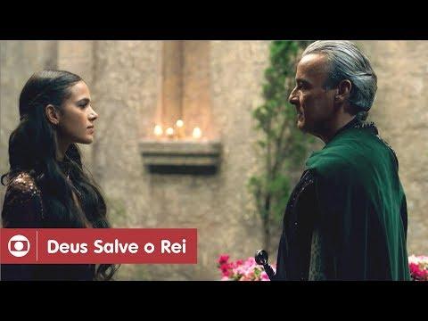 Deus Salve O Rei: capítulo 108 da novela, segunda, 14 de maio, na Globo