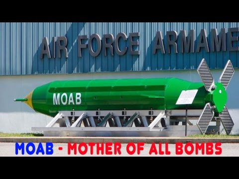 mother of all bombs | bomb on isis | us drops moab | MOAB | us drops mother of all bombs