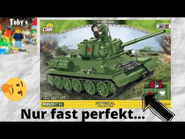 Der (fast) perfekte Cobi Panzer!   Cobi 2542 T-34-85 - Review