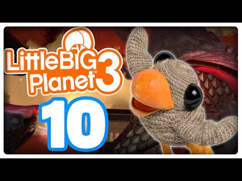 Let's Play LITTLE BIG PLANET 3 Part 10: Swoop, der Glitch-Vogel